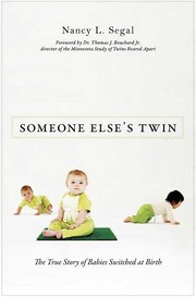 Cover of: Someone else's twin