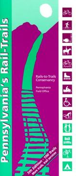Cover of: Pennsylvania's Rail Trails