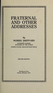 Cover of: Fraternal and other addresses