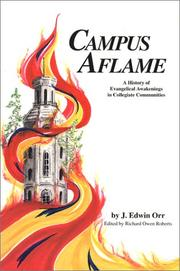 Cover of: Campus aflame | Orr, J. Edwin