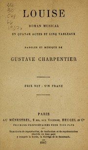 Cover of: Louise