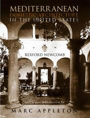 Cover of: Mediterranean Domestic Architecture for the United States
