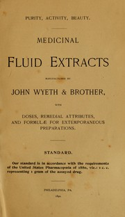 Cover of: Purity, activity, beauty | John Wyeth & Brother