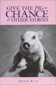 Cover of: Give the pig a chance & other stories