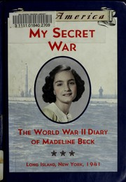 Cover of: My secret war by Mary Pope Osborne