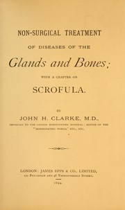 Cover of: Non-surgical treatment of diseases of the glands and bones