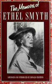 Cover of: The memoirs of Ethel Smyth