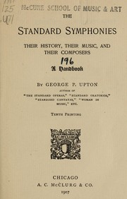 Cover of: The standard symphonies