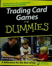 Cover of: Trading card games for dummies