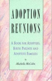Cover of: Adoption Reunions