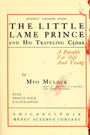 Cover of: The little lame prince and his traveling cloak