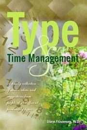 Cover of: Type and Time Management