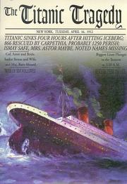 Cover of: The Titanic Tragedy