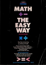Cover of: Math the easy way | Anthony Prindle