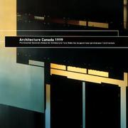 Cover of: Architecture Canada 1999 | Essy Baniassad
