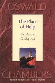 Cover of: The place of help