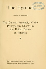 Cover of: The Hymnal | Presbyterian Church in the U.S.A.