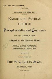 Illustrated catalogue and price list