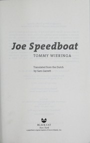 Cover of: Joe Speedboot