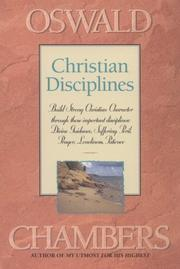 Cover of: Christian disciplines