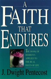 Cover of: Faith that endures
