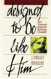 Cover of: Designed to be like Him