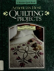 Cover of: America's best quilting projects | Marianne Fons