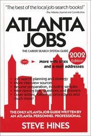 Cover of: Atlanta Jobs 2002 (Atlanta Jobs)