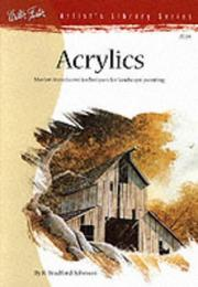Cover of: Acrylics