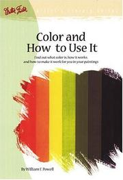 Cover of: Color and How to Use It