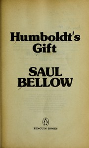 Cover of: Humboldt's Gift