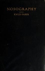 Nosography in modern internal medicine by Knud Faber