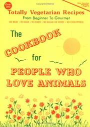 Cover of: The Cookbook for People Who Love Animals