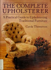 Cover of: Complete Upholsterer, The