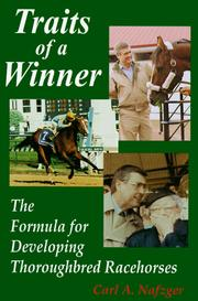 Cover of: Traits of a winner