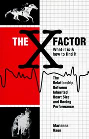 Cover of: The X Factor: What It Is & How to Find It
