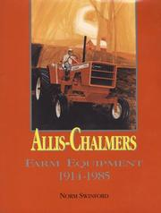 Cover of: Allis-Chalmers farm equipment, 1914-1985