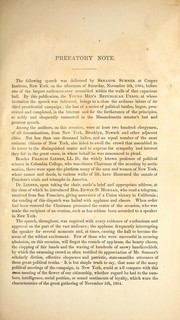 Cover of: Slavery and the rebellion, one and inseparable: speech of Hon. Charles Sumner, before the New York Young Men's Republian Union, at Cooper Institute, New York, on the afternoon of November 5, 1864.