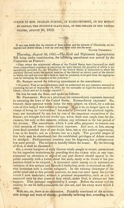 Cover of: Speech of Hon. Charles Sumner, of Massachusetts, on his motion to repeal the fugitive slave bill