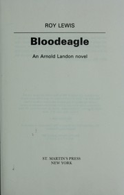 Cover of: Bloodeagle