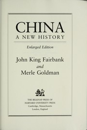 Cover of: China | Edwin O. Reischauer, John K. Fairbank