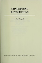 Cover of: Conceptual revolutions