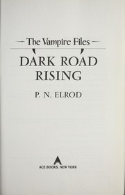 Cover of: Dark road rising
