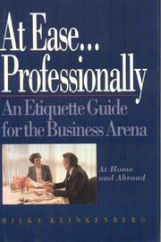 Cover of: At Ease... Professionally
