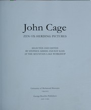Cover of: John Cage: Zen ox-herding pictures