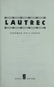Cover of: Lautrec