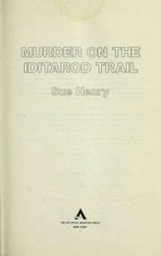Cover of: Murder on the Iditarod Trail