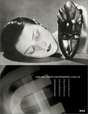 Cover of: Man Ray, Paris photographs 1920-34