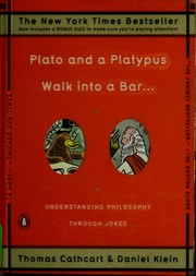 Cover of: Plato and a platypus walk into a bar-- | Thomas Cathcart