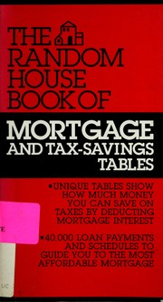 Cover of: Mortgage/tax-Saving Handbook | Eric Kaplan